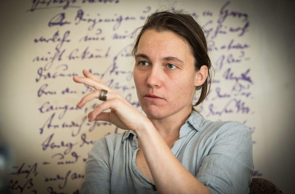 Katja Bürkle beeindruckt  auf der Bühne wie auf dem TV-Bildschirm. Foto: Veranstalter