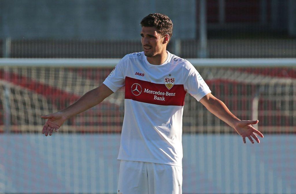 Fällt beim VfB Stuttgart erst einmal aus: Marcin Kaminski Foto: Baumann