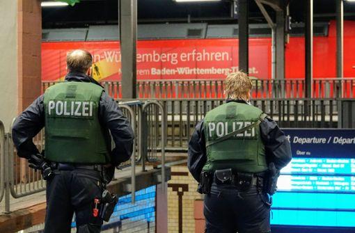 Bahnhof Offenburg gesperrt und geräumt