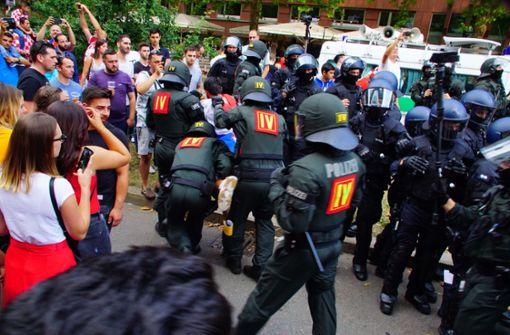 Mehr als 50 Festnahmen bei Feiern kroatischer Fans