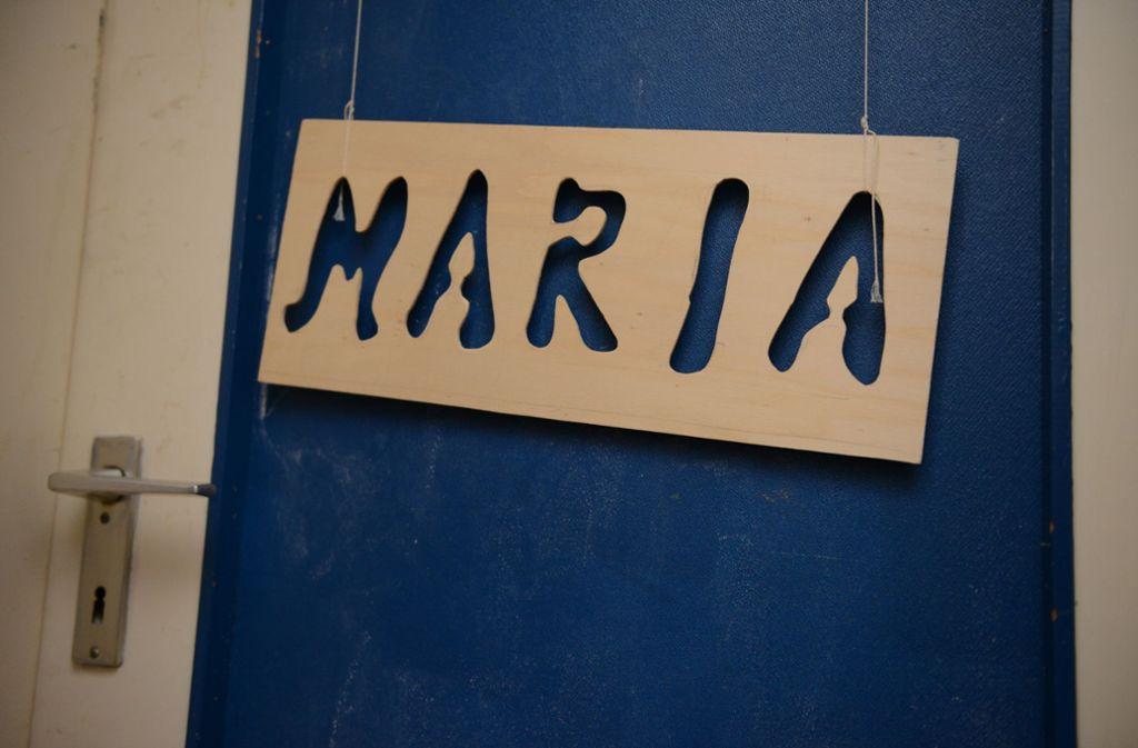 Das Namensschild  hing noch an der Tür ihres Zimmers. Foto: dpa