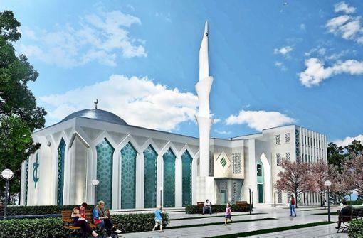 AfD demonstriert gegen neue Moschee