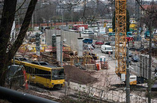 Der Rosensteintunnel steht auf der Agenda
