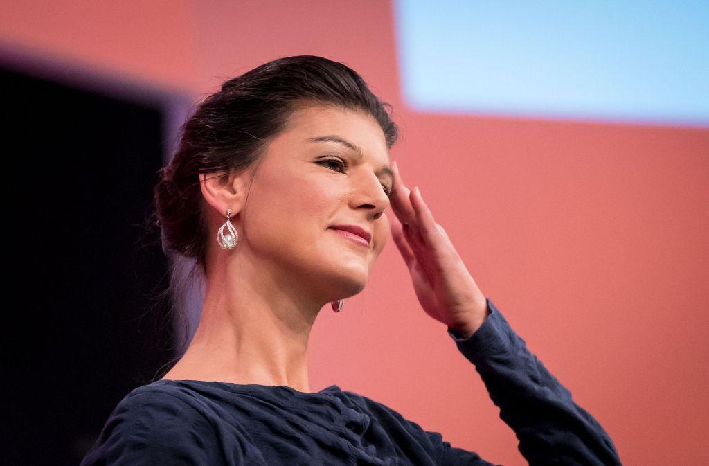 Linken-Spitzenpolitikerin Sahra Wagenknecht Foto: dpa