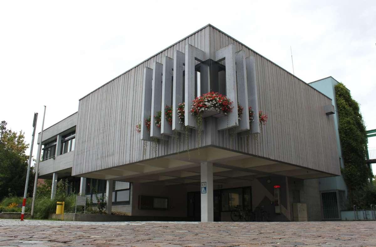 Der  Erste Bürgermeister von Filderstadt hat sein Büro im Technischen Rathaus in Plattenhardt. Foto: