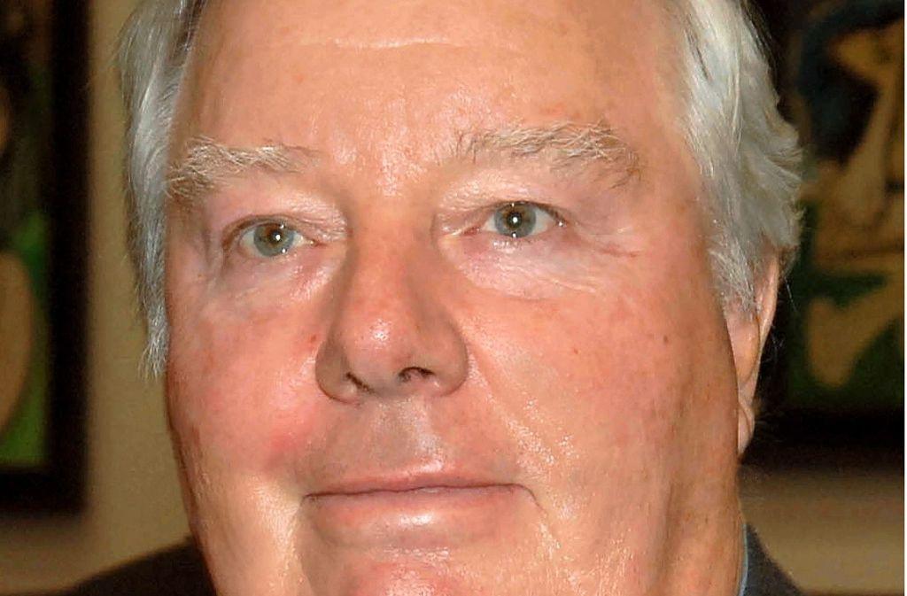 Verlegersohn Franz Burda ist im Alter von 84 Jahren gestorben. Das foto stammt aus dem Jahr 2007. Foto: dpa