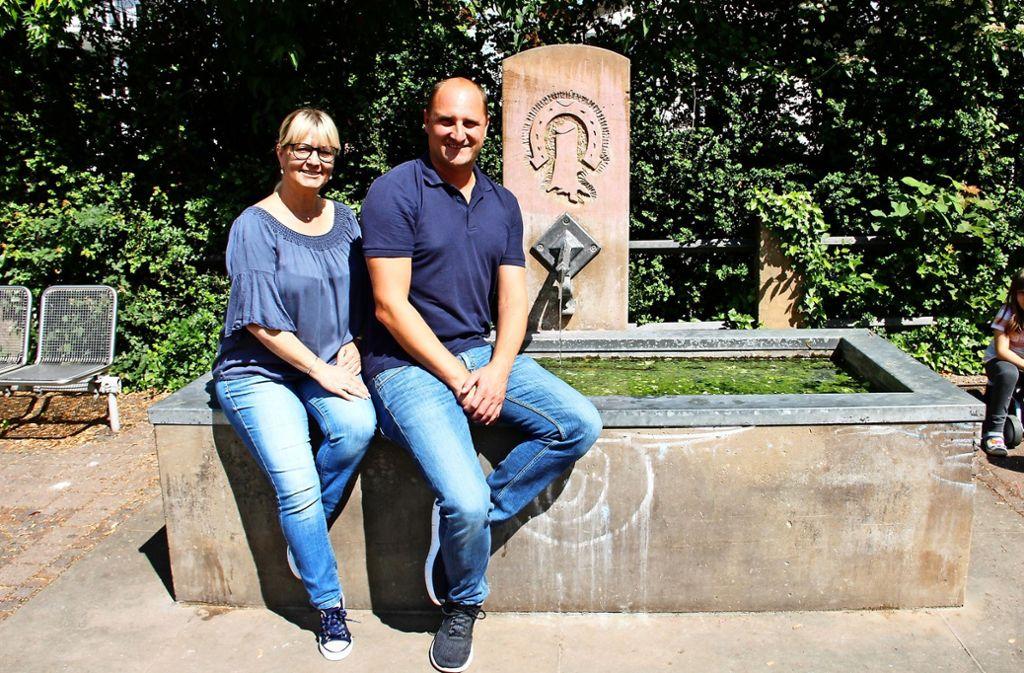 Andrea Feucht und Timo Burket Foto:
