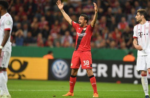 Karim Bellarabi gegen den VfB Stuttgart wieder eine Option
