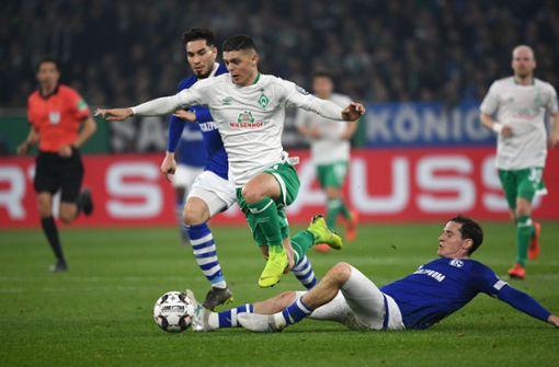 Werder Bremen steht nach Sieg auf Schalke im Halbfinale