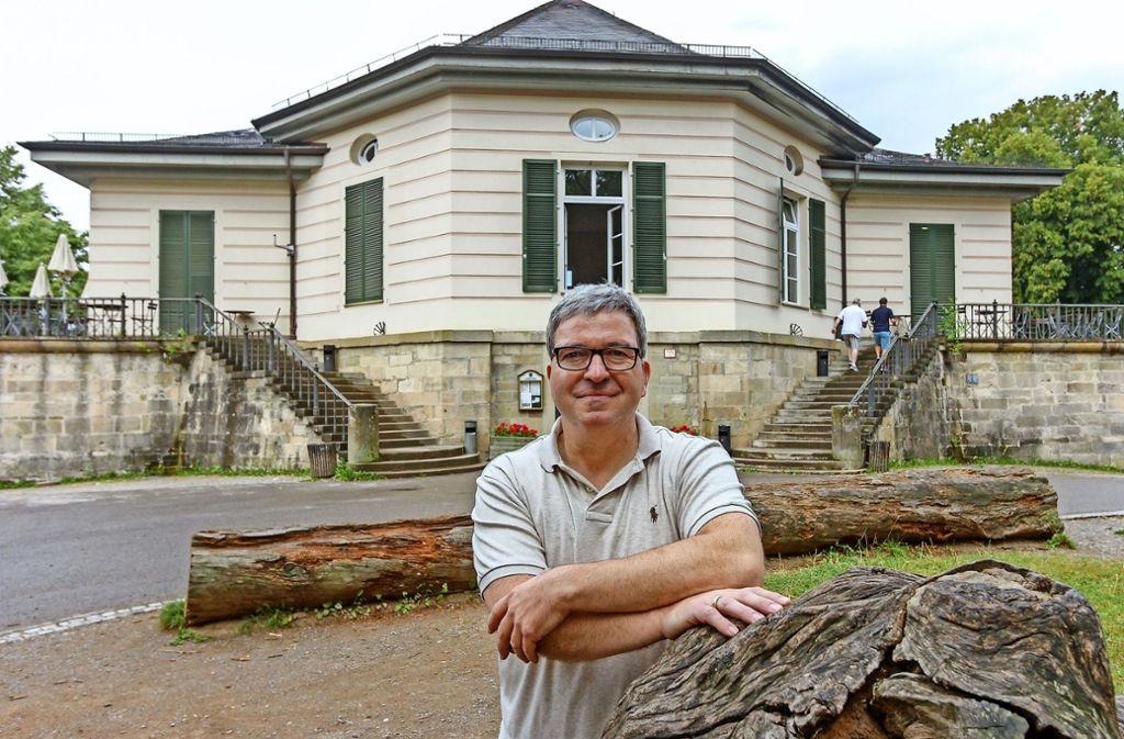 Seit 22 Jahren betreibt Jürgen Ummüßig die Gastronomie im Bärenschlössle. Foto: factum/Bach