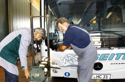 Bus-Seitter geht in die Sicherheits-Offensive