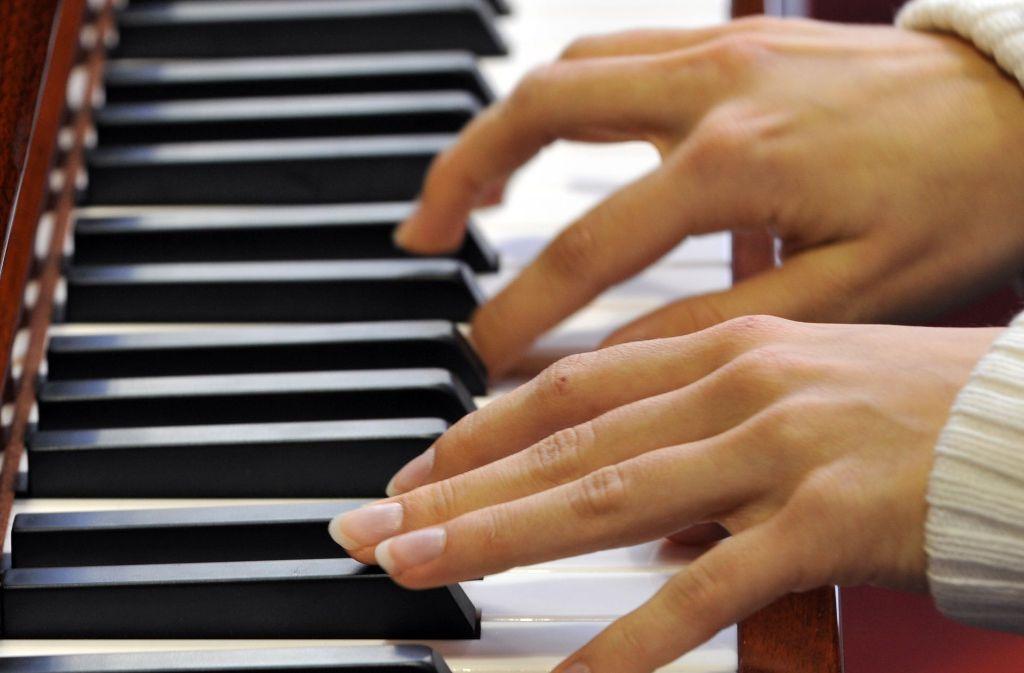 Zur Kammermusik im JKG gehört auch das Klavier – das Konzert an der Rutesheimer Schule war in diesem Jahr  wieder ein großer Erfolg. Foto: dpa
