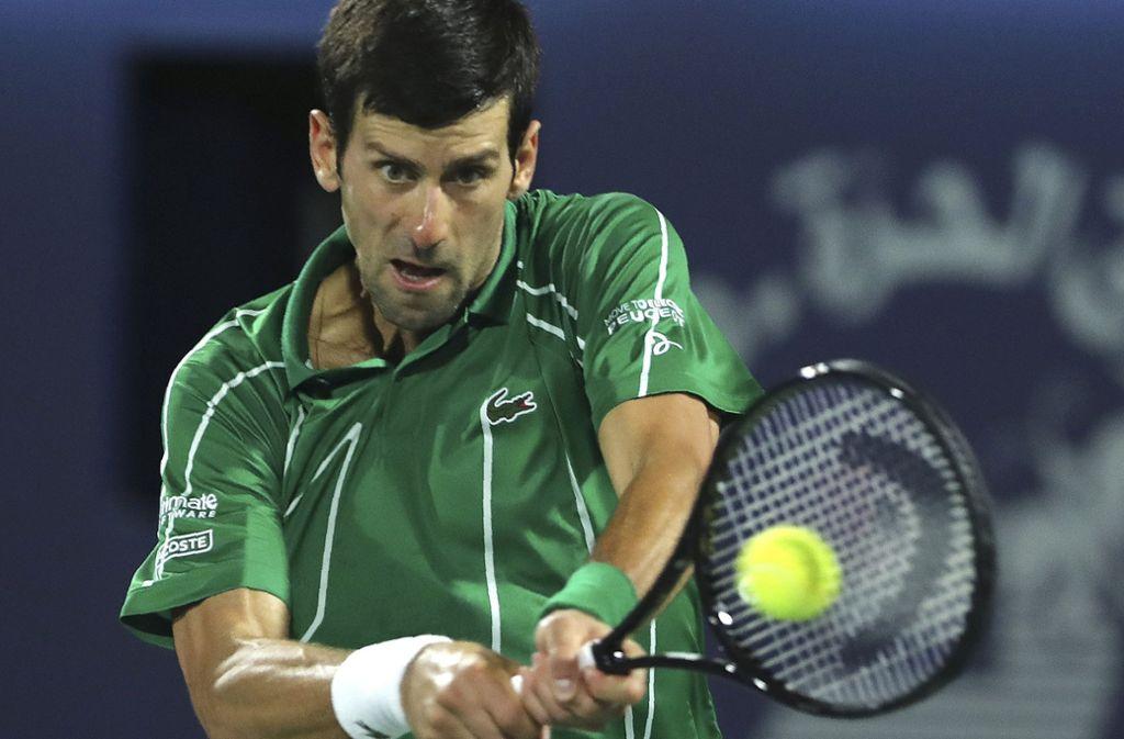 Novak Djokovic will sich nicht gegen das Coronavirus impfen lassen. Foto: AP/Kamran Jebreili