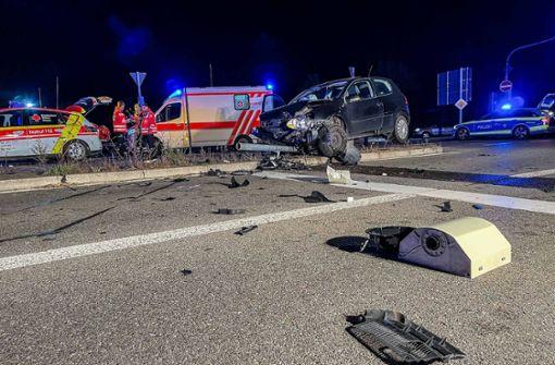 VW-Fahrerin missachtet rote Ampel