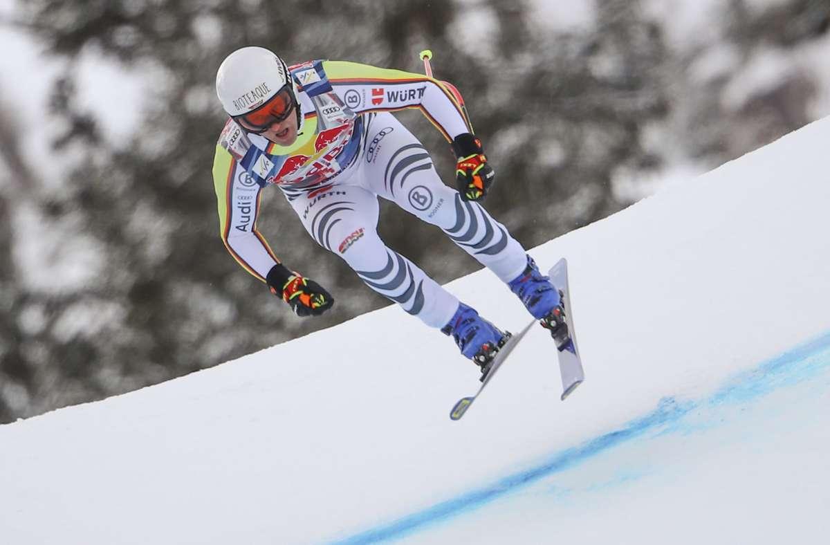Im Weltcup am Start:   Romed Baumann ist Mitglied des deutschen Teams. Foto: dpa/Marco Trovati