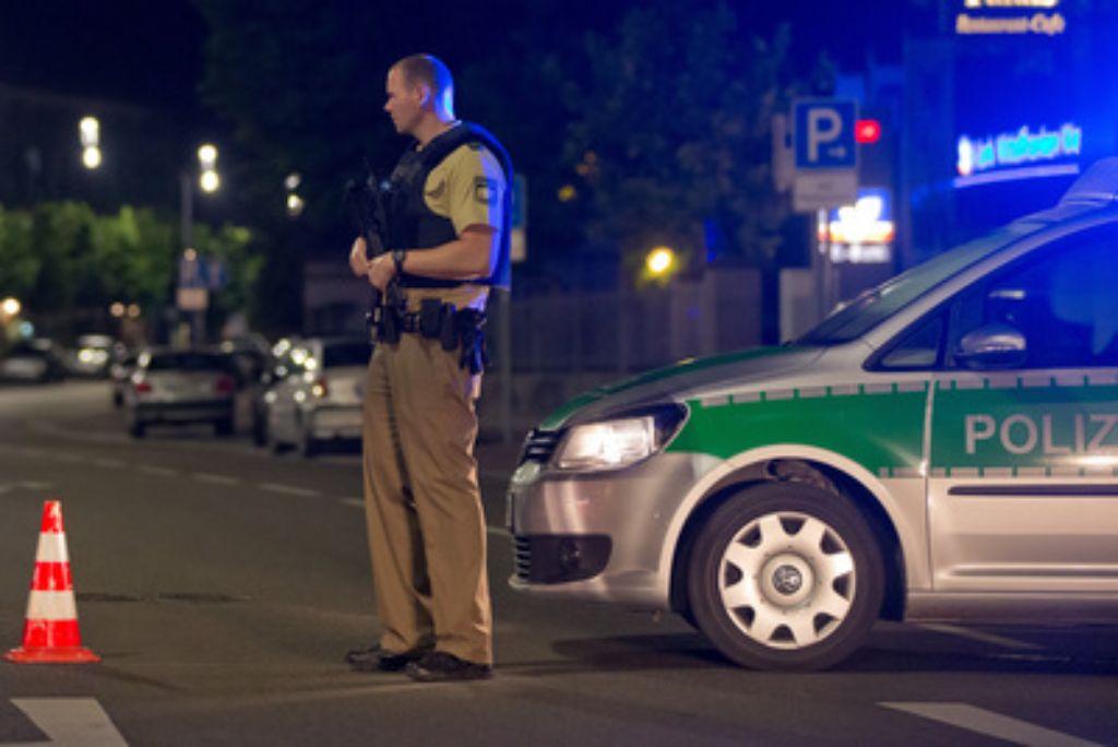 In Ansbach hat es offenbar einen Anschlag gegeben. Der Täter soll tot sein. Foto: dpa