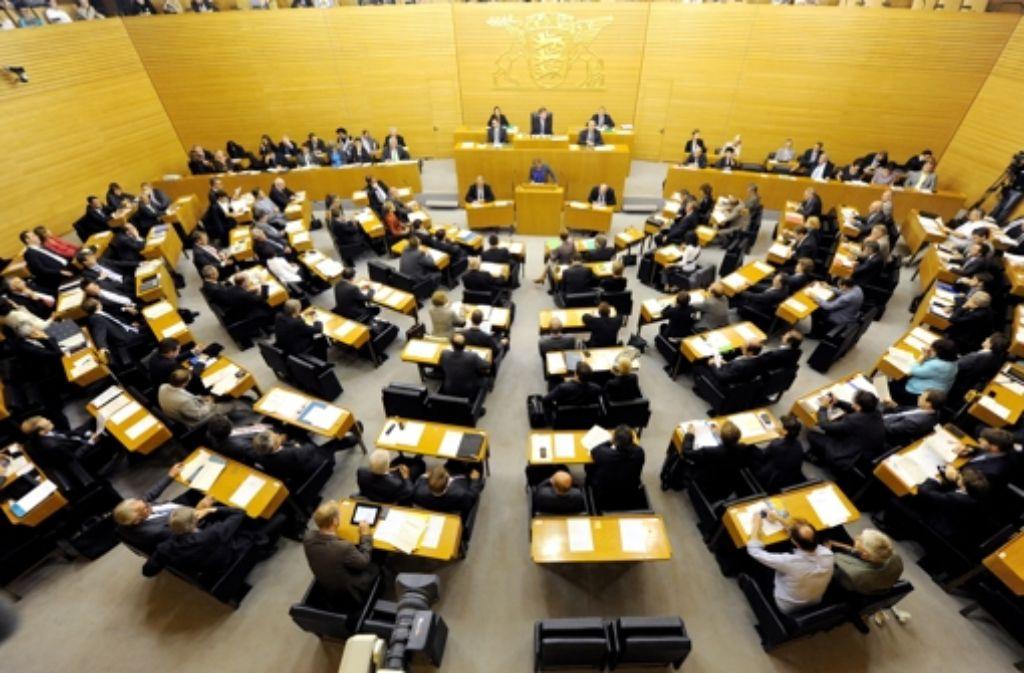 Parlamente, wie hier der Landtag, werden meist von Männern dominiert. Foto: dpa