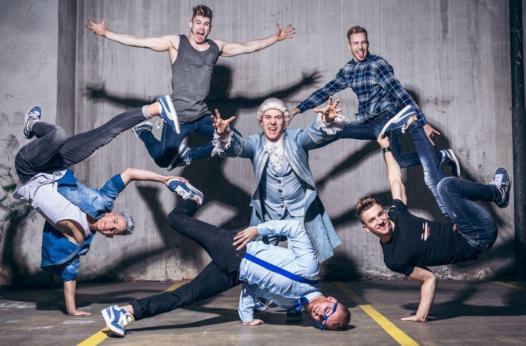 Bei Breakin' Mozart dreht sich alles um Breakdance und – Mozart.  Foto: Veranstalter