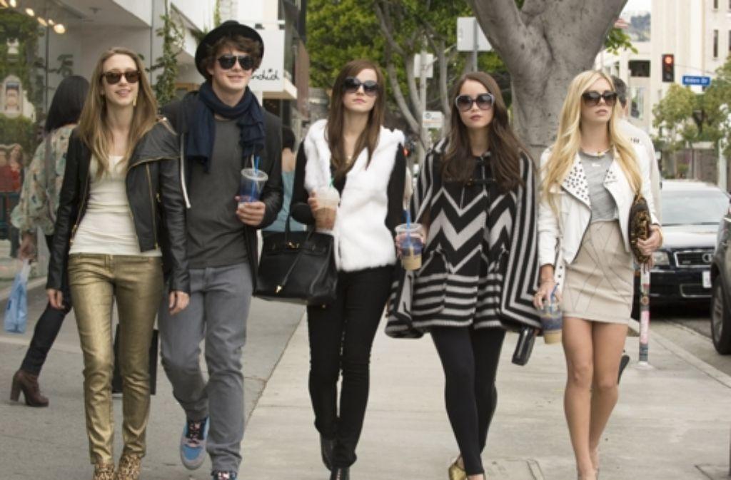 """Sofia Coppolas Film """"The Bling Ring"""" erzählt von Wohlstands-Teenies. Foto: Tobis"""