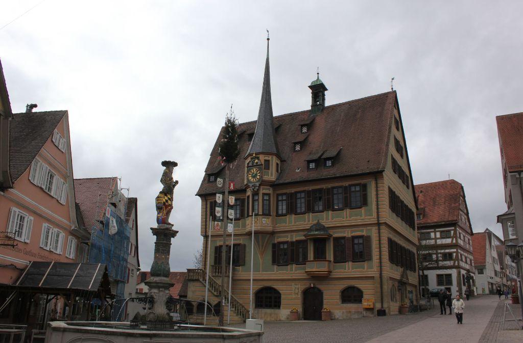 Die Stadt möchte ihren ehemaligen Bürgermeister Lothar Späth ehren. Foto: Pascal Thiel