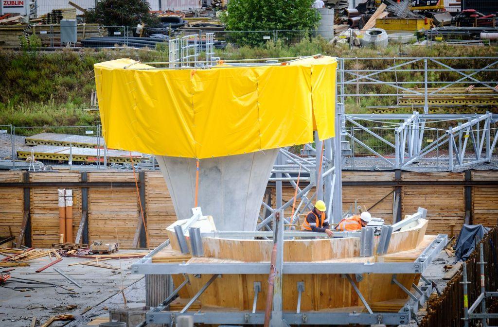 Stuttgart 21: In der Landeshauptstadt wird gebaut, in Berlin ermittelt die Staatsanwaltschaft. Foto: Lichtgut/Achim Zweygarth