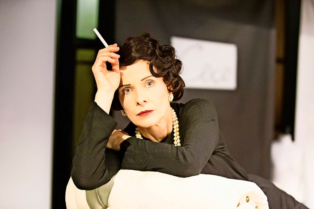 Julia Jaschke als Coco Chanel. Foto: Veranstalter