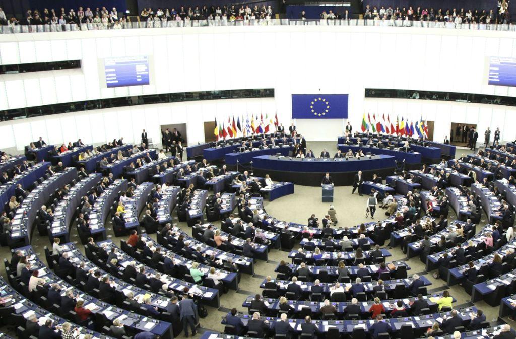 Durch  eine Sperrklausel sollen Splitterparteien nicht mehr ins Europarlament können. Foto: