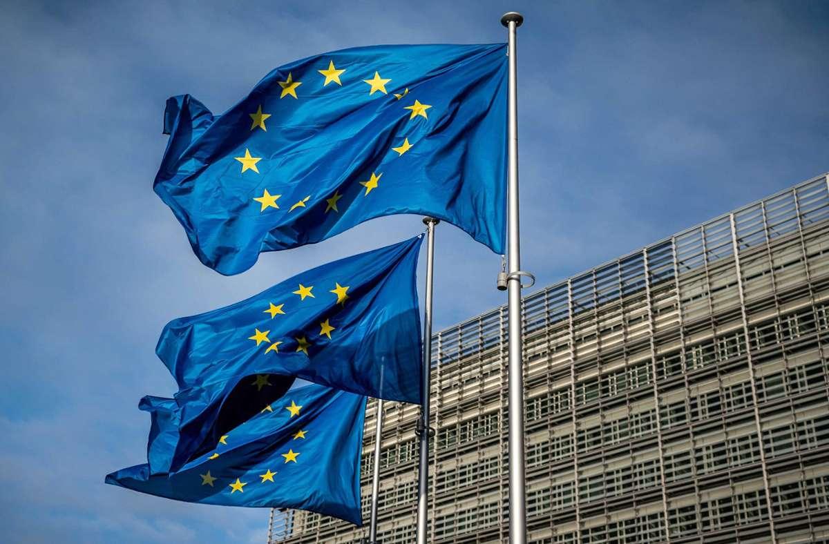 Der EU sollen bis Ende 2027 rund 1,8 Billionen Euro zur Verfügung stehen. 750 Milliarden Euro  sind für die Corona-Hilfen eingeplant. (Symbolbild) Foto: dpa/Michael Kappeler
