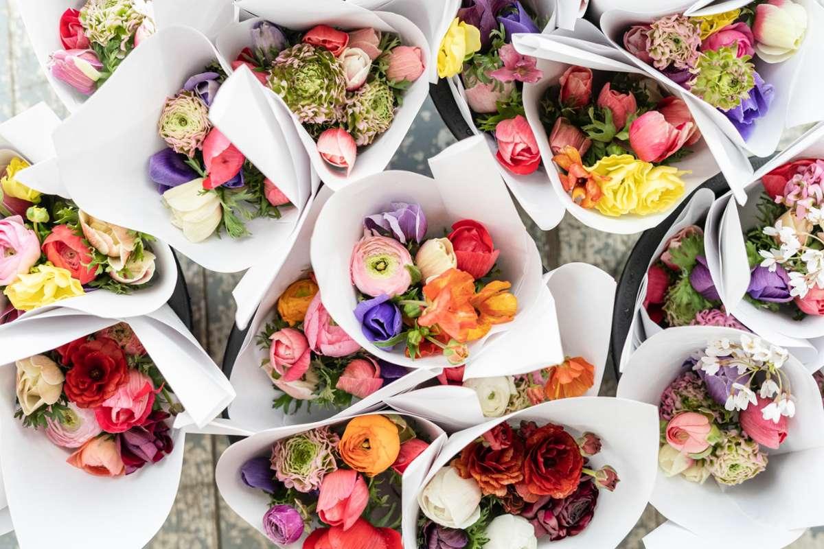 Blumen, Eis und andere Leckereien – wir haben die coolsten Oster-Geschenke aus dem Kessel für euch zusammengesammelt. Foto: Unsplash/Zoe Schaeffer