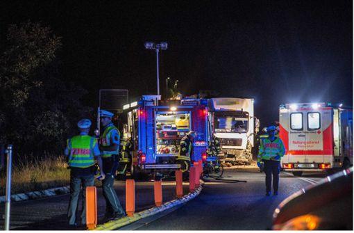 Polizei vermutet zu hohe Geschwindigkeit als Ursache