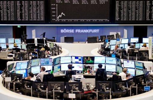 Dax berappelt sich nach Börsengewitter