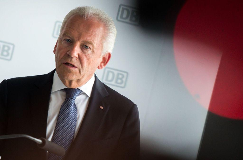 Ex-Bahn-Chef Rüdiger Grube hat den Konzern Ende Januar aus Verärgerung über seine gekürzte Vertragsverlängerung abrupt verlassen. Foto: dpa
