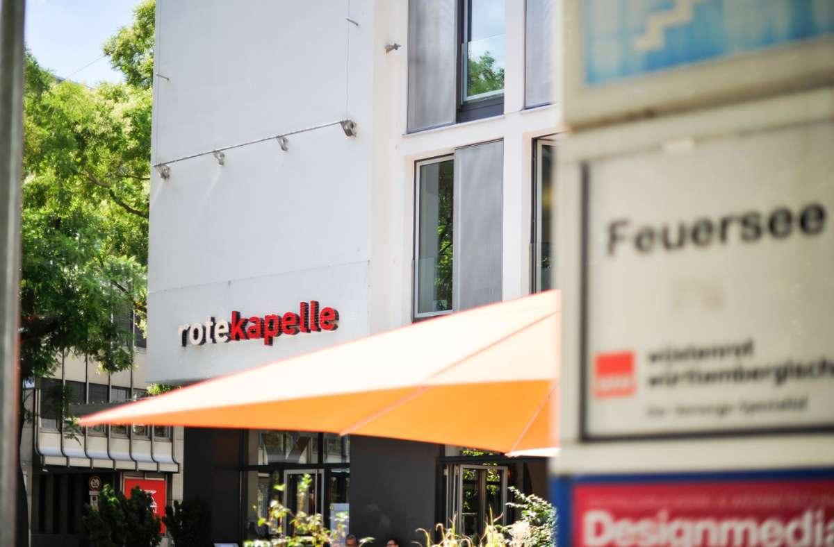Aus der Roten Kapelle im Stuttgarter Westen wird ein italienisches Restaurant, dessen Namen noch nicht feststeht. Foto: Lichtgut/Max Kovalenko