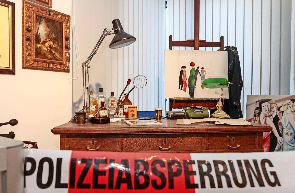 Im Museum befindet sich auch eine Nachbildung von der Werkstatt Konrad Kujaus. Foto: factum/Bach