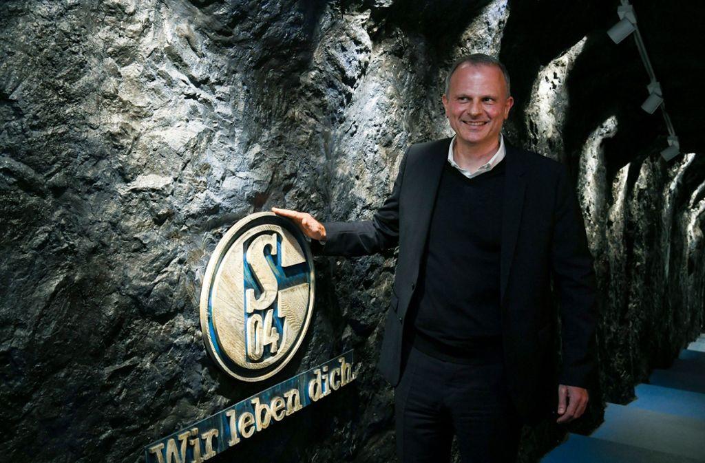Jochen Schneider war 16 Jahre lang beim VfB – und tritt jetzt auf Schalke einen schwierigen Job an. Foto: AP