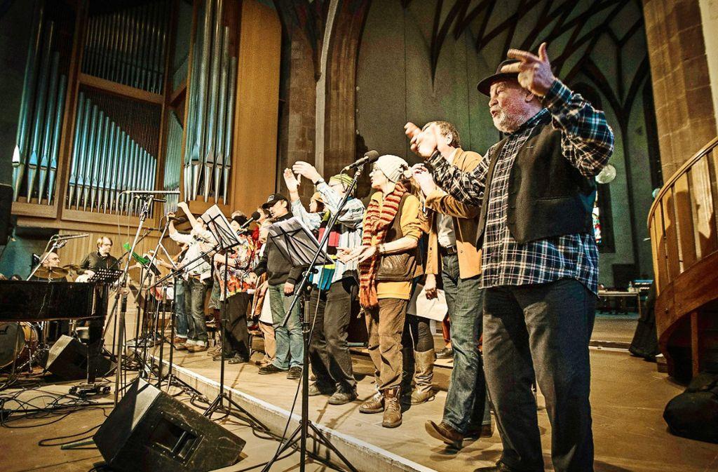 """""""Rahmenlos und frei """"treten an diesem Sonntag wieder in der Vesperkirche auf. Foto: Leif Piechowski"""