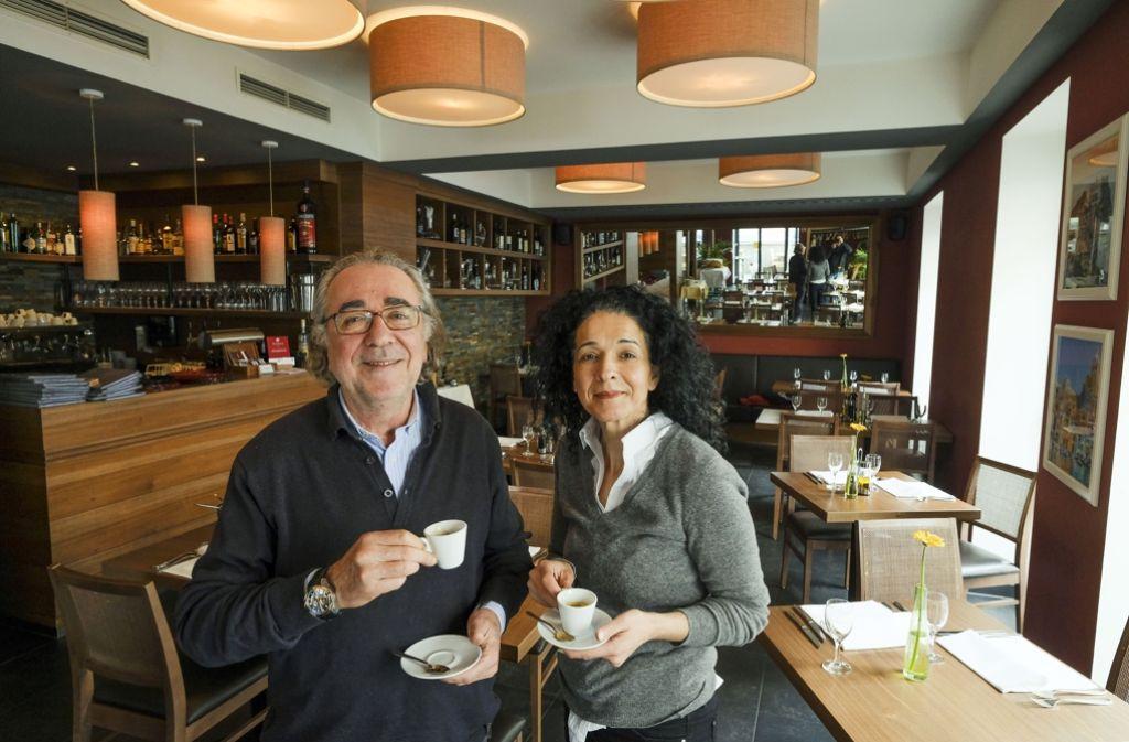 Maurizio und Senel Olivieri machen Lust auf Italien. Foto: Lichtgut/Leif Piechowski