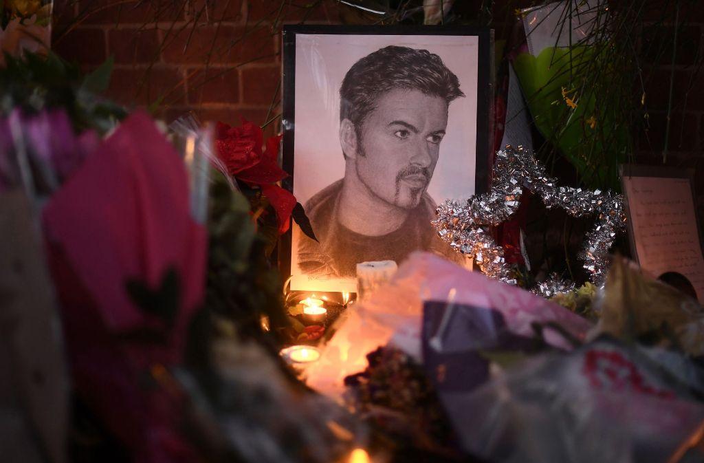 Am 25. Dezember stirbt Popikone George Michael mit nur 53 Jahren. Foto: Gettyabo