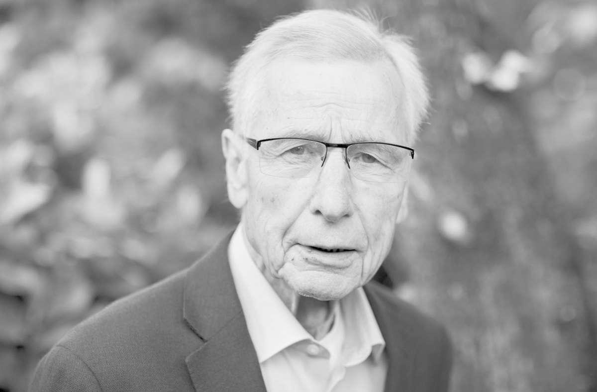 Wolfgang Clement ist tot. Foto: dpa/Rolf Vennenbernd