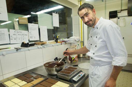 Der Konditor  und die Schokoladenfabrik