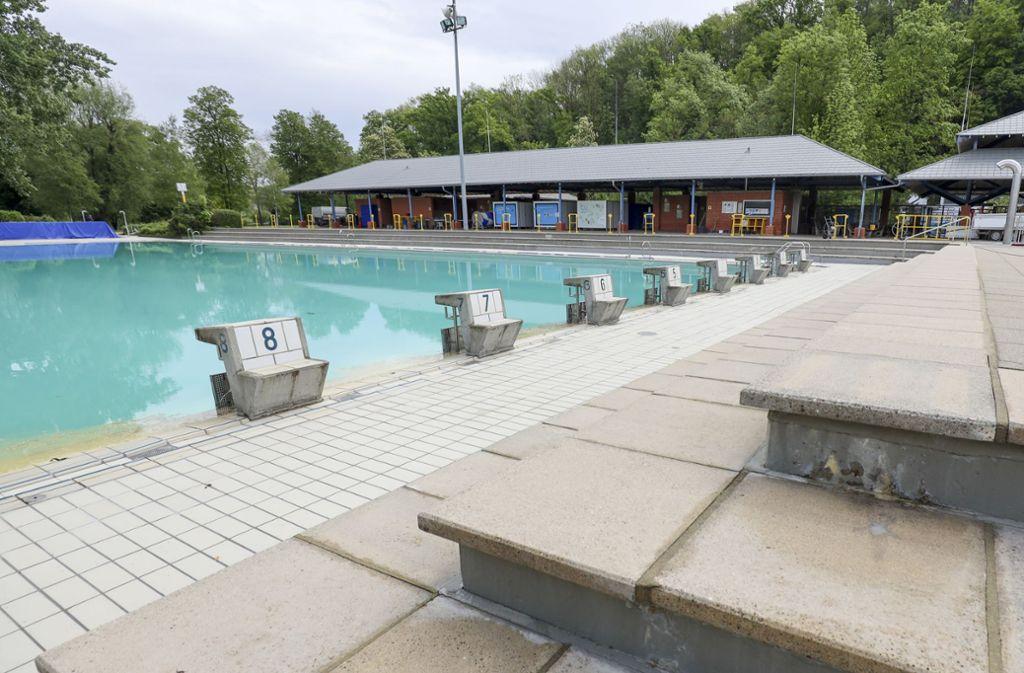Das Freibad in Ludwigsburg öffnet am 15. Juni. Foto: factum/Simon Granville