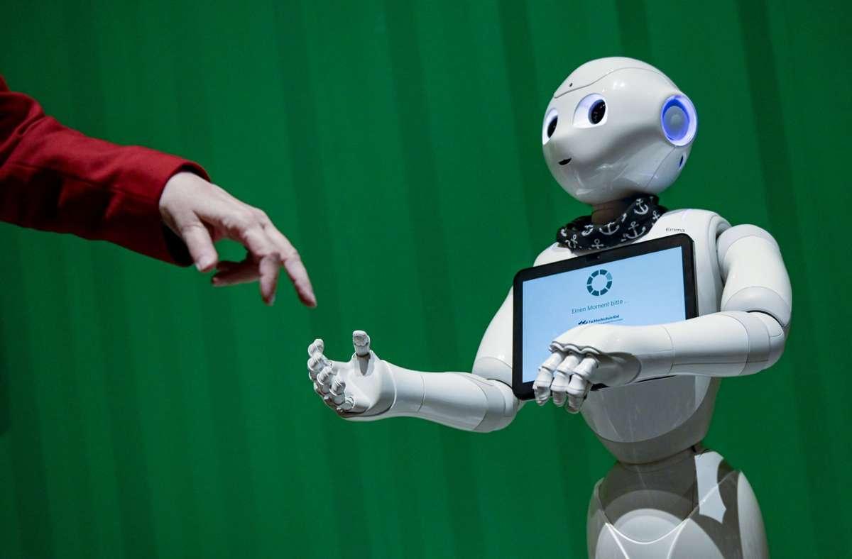 Die Künstlichen Intelligenz gilt als vielversprechendes Forschungsfeld. (Symbolbild) Foto: dpa/Axel Heimken