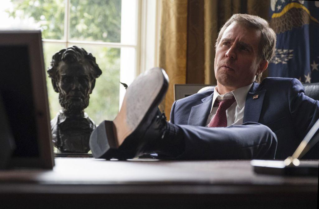Sam Rockwell als George W. Bush Foto: Verleih