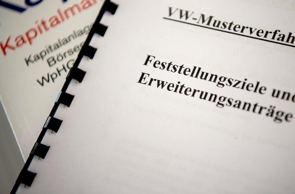Ein Musterverfahren zur Dieselaffäre muss genügen, entschieden die Stuttgarter Richter. Foto: dpa