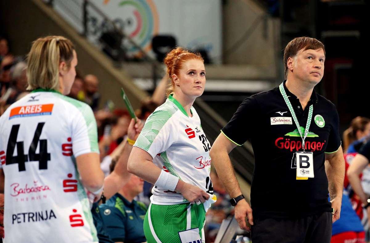 Die Talfahrt in der Bundesliga kostete Aleksandar Knezevic den Job bei den Frisch-Auf-Frauen. Foto: Baumann