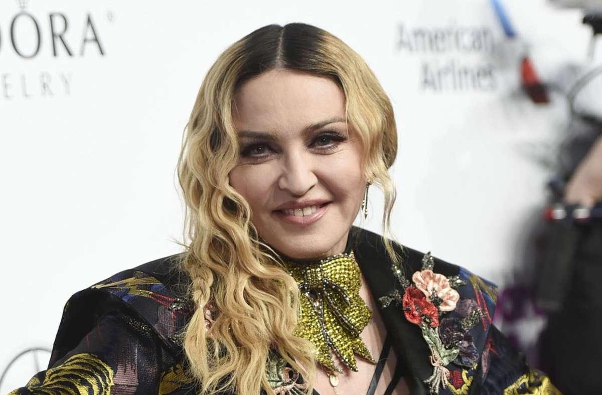 """Madonna, die """"Queen of Pop"""", hatte in den 80er-Jahren ihren Durchbruch. (Archivbild) Foto: AP/Evan Agostini"""