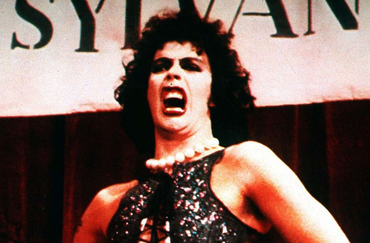 """Tim Curry in der """"Rocky Horror Picture Show"""" Foto: dpa/dpa"""