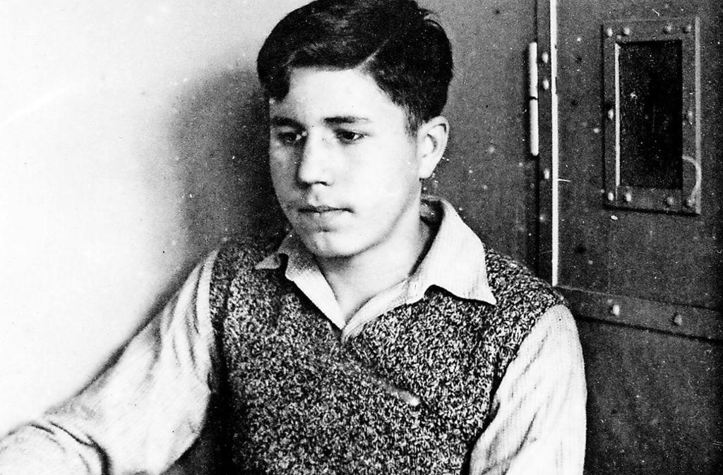 Als Jugendlicher gehörte Gasparitsch  der Widerstandsgruppe G  an. Der Ostheimer blieb sein Leben lang Humanist und Kommunist. Foto: Archiv