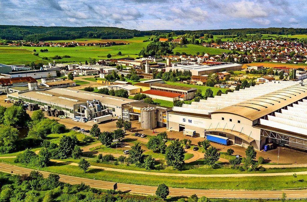 SAM Automotive ist am Firmensitz Böhmenkirch einer der großen Arbeitgeber. Foto: SAM