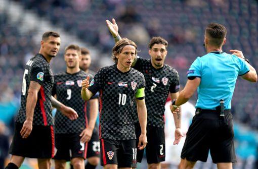 Kroatien droht nach Remis frühes EM-Aus